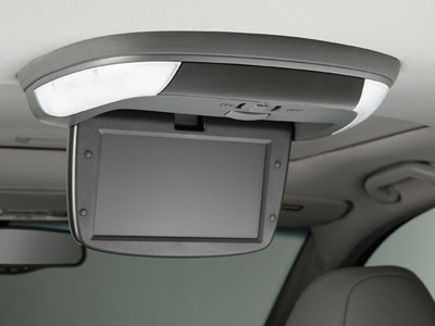 2008 Acura TSX Rear Entertainment System