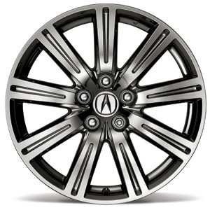 Acura Parts on 2010 Acura Tl 19 Inch Chrome Look Alloy Wheel  08w19 Tk4 200a