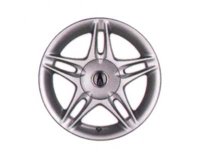 2001 Acura Integra 15 inch Multi-Spoke Slotted Silver A 08W15-ST7-280G