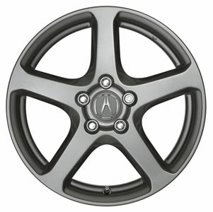 Acura Rims on 2005 Acura Tsx 17inch Alloy Silver Star 5 Spoke Wheel  08w17 Sec 200a