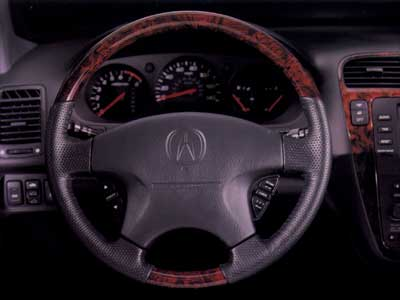 2010 Acura MDX Wood-Grain Steering Wheel