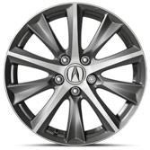 2015 Acura ILX 17 inch Diamond-Cut Alloy Wheel 08W17-TX6-200
