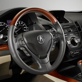 2015 Acura RDX WoodGrain-Look Steering Wheel 08U97-TX4-210